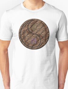 Capricorn & Rooster Yin Earth Unisex T-Shirt