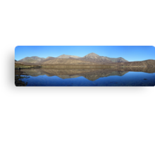Loch Ainort reflections - Panorama Canvas Print
