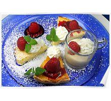 Espresso Semifreddo & Creamy Cheese Tarte Poster