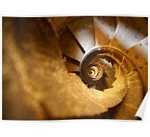 Inside Sagrada Familia Poster