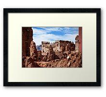 Telouet Castle Framed Print