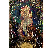 space/zodiac oil painting Photographic Print