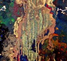 space/zodiac oil painting Sticker
