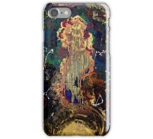 space/zodiac oil painting iPhone Case/Skin