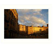 Siena Campo Art Print