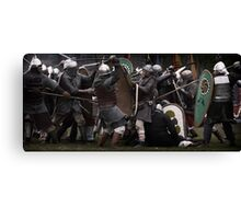 The Melee Canvas Print