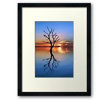 Tranquil Lake Framed Print