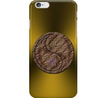 Capricorn & Rooster Yin Earth iPhone Case/Skin