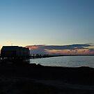 Busselton Sunset by Hughsey