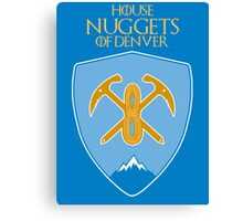Denver Nuggets - Game of Thrones Edition Canvas Print