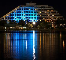'Burswood Blue'... by Gordon Pressley