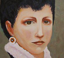 Portrait de Mademoiselle Elizabeth Gardner by Estelle O'Brien