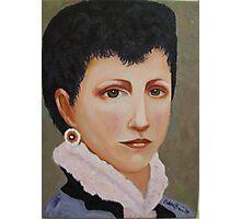 Portrait de Mademoiselle Elizabeth Gardner Photographic Print