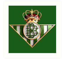 Real Betis Balompié 3D Art Print