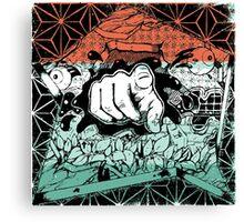 Flatbush Zombies Cons  Canvas Print