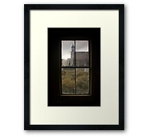 View of Bodie Church From Next Door Framed Print