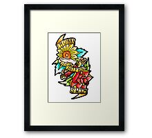 Twin Sized Mattress - The Front Bottoms  Framed Print