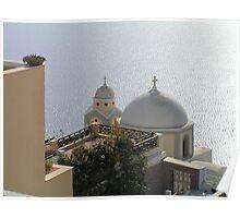 Fira, Santorini Poster