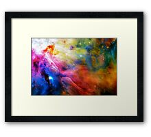 Hubble 1 Orion Nebula M42 Framed Print