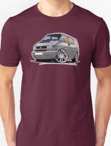 VW T4 Kombi (Custom Grey) Unisex T-Shirt