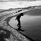 Boy on the Beach by Linda Gregory