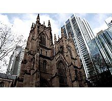 Gothic City Photographic Print