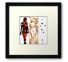 Body Language 9 Framed Print