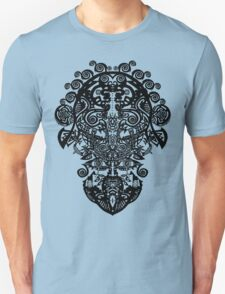 BLACKLINE DESIGN by Ethereal - C.Graham copyright 2009. Unisex T-Shirt