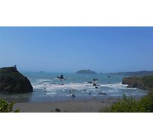Trinidad Beach, Camel rock Photographic Print