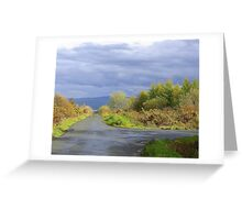 Rain Clouds And Gorse.................................Ireland Greeting Card