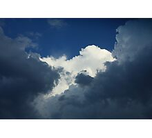 *SEVERE WEATHER CLOUDS* Photographic Print