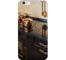 pan on an electric stove iPhone Case/Skin