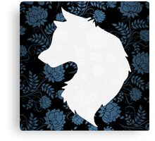 The White Wolf Canvas Print
