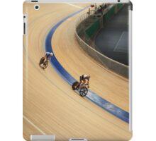 pursuit Cycling tilt  shot iPad Case/Skin