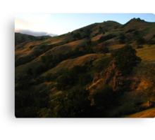 Sunol Backpack Camp, Sky Camp, Sunol Regional Wilderness, CA 2015 Canvas Print