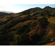 Sunol Backpack Camp, Sky Camp, Sunol Regional Wilderness, CA 2015 Photographic Print
