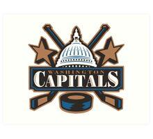 Washington Capitals Alternate Art Print