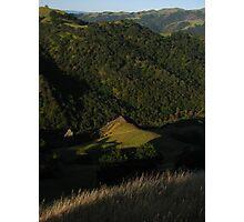 California Hills, Sunol Regional Wilderness, CA 2015 Photographic Print