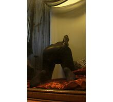 Zentai Through the Looking Glass 1 Photographic Print