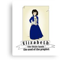 Elizabeth - Bioshock Infinite Canvas Print