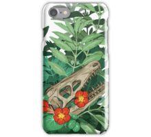velociraptor skull iPhone Case/Skin