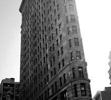 Flatiron Building NYC  by angidphoto