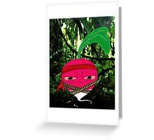 Rambo Radish Greeting Card