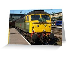 Green 47 Carlisle Greeting Card