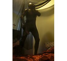 Zentai Through the Looking Glass 11 Photographic Print