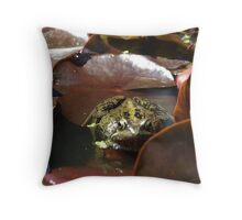 Kermit the Frog's little brother? Throw Pillow