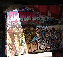 Riverside Graffiti 2 by Charlotte Jarvis