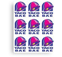 taco bae Canvas Print