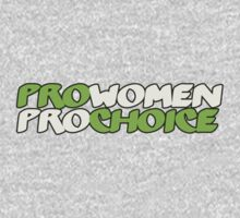 Pro women pro choice by Boogiemonst