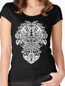 LINE DESIGN by Ethereal - C.Graham copyright 2009. Women's Fitted Scoop T-Shirt